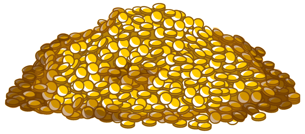 Image result for club penguin coins clipart