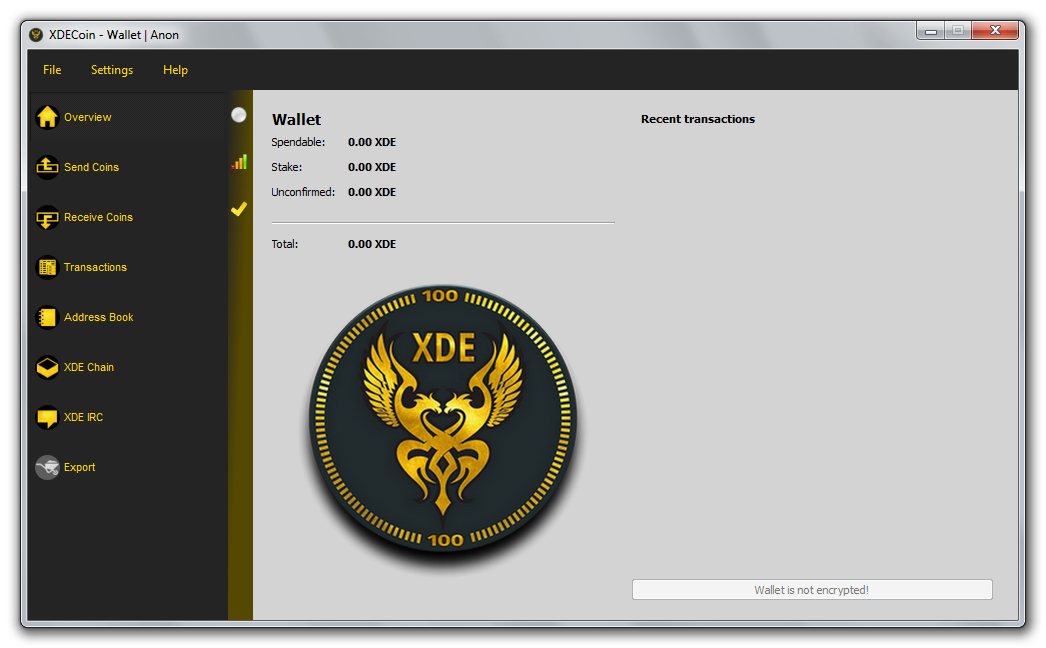 xde wallet