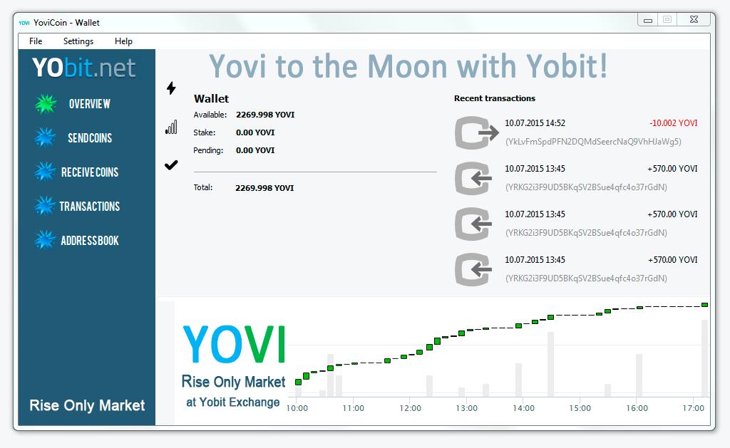 yovi wallet screenshot
