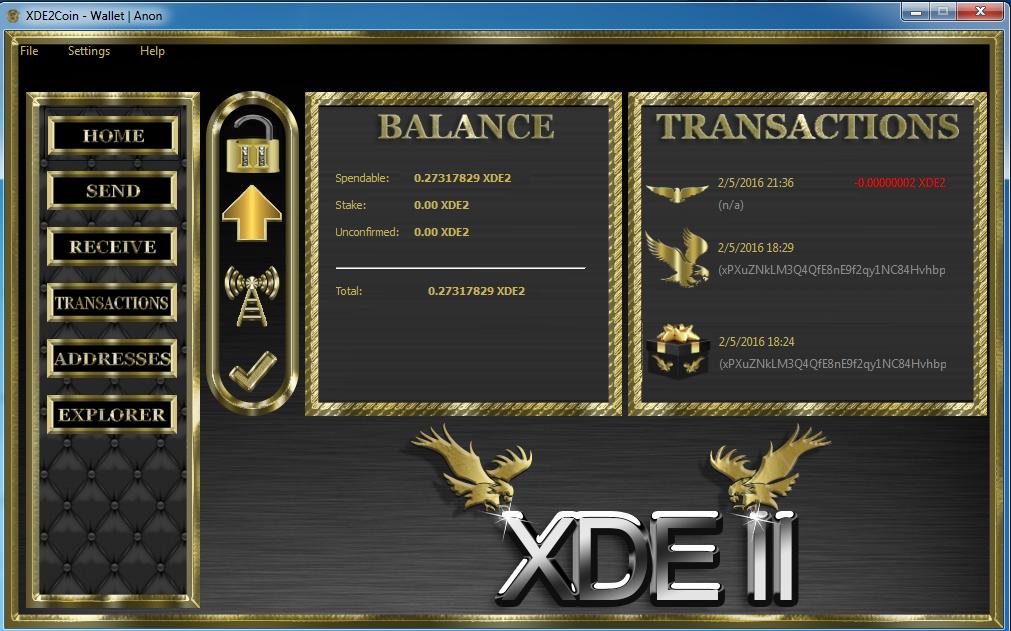 XDEII Wallet
